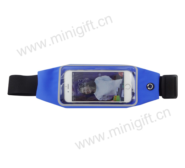 0709002 Sport waist bag with clear window
