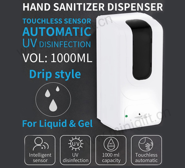 Hand sanitizer liquid distributor